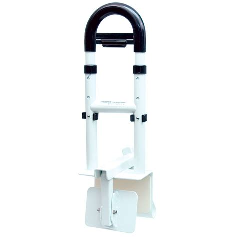 bathtub safety rail maxiaids drive adjustable height bathtub safety rail