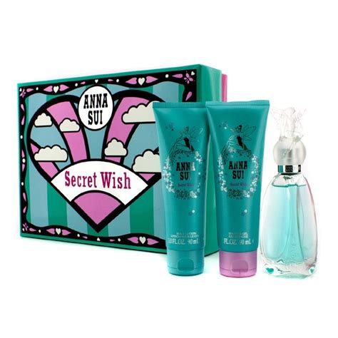 Sale Sui Secret Wish Fragrance Bibit Parfume 120ml sui new zealand secret wish coffret edt spray 50ml 1 7oz lotion 90ml 3oz shower