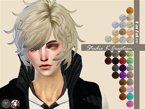sims 4 anime hair cc reiji animate hair 42 at studio k creation 187 sims 4 updates