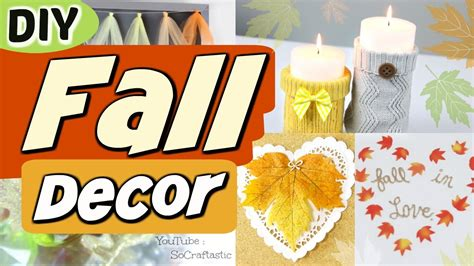 room decorating diy easy diy fall room decor ideas autumn decorations h on diy fall room decor tips to make your