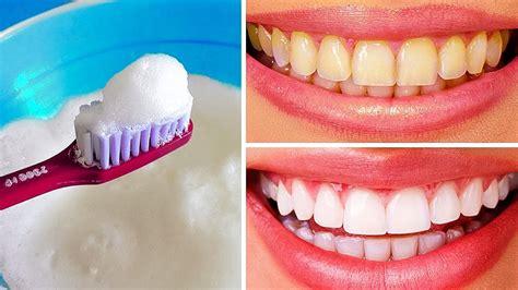 natural ways  whiten teeth  home youtube