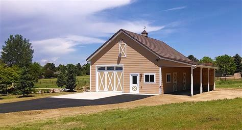 Two Stall Horse Barn High Quality Two Stall Horse Barns In Colorado