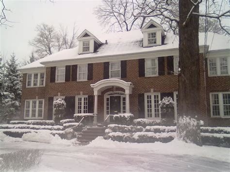 panoramio photo of home alone house community house winnetka illinois mapio net