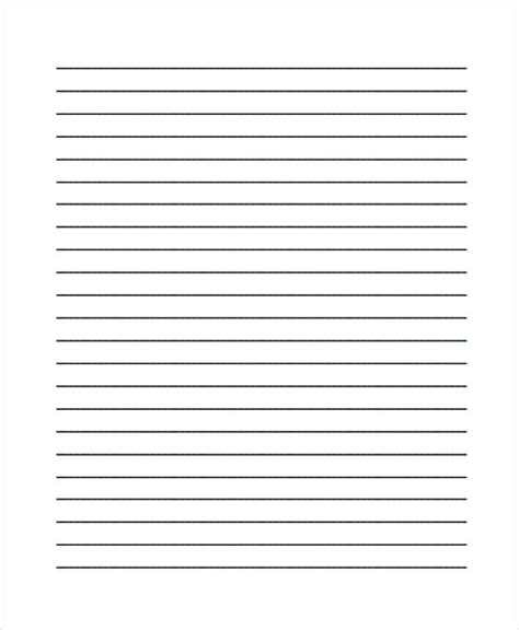 blank lined writing paper 25 free lined paper templates free premium templates