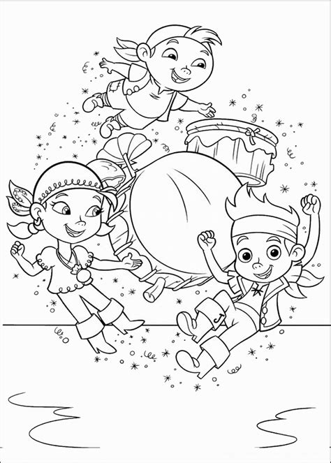 disney coloring pages jake and the neverland pirates jake and the never land pirates coloring pages birthday