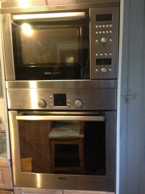 bosch built  cookers  sale  large oven