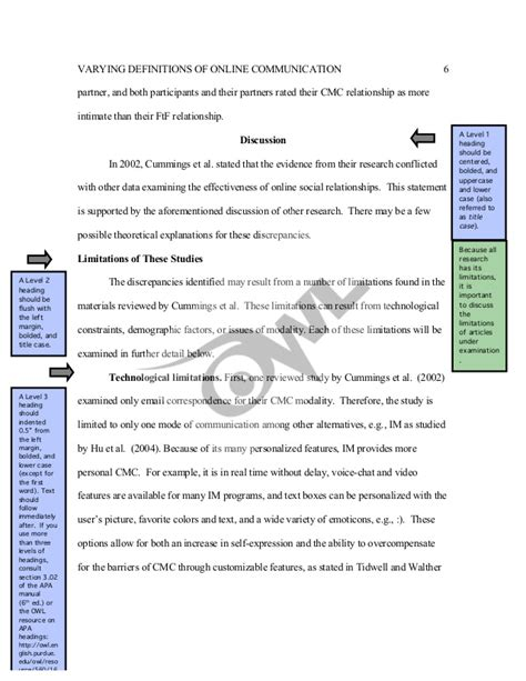sample  literature review    writing lab
