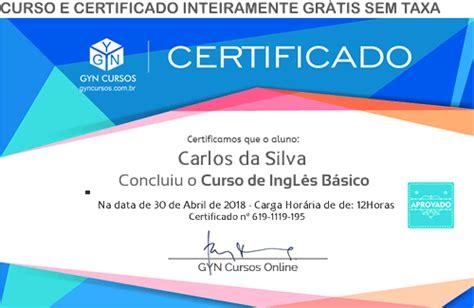 cursos de ingles gratis certificado om personal aprender ingles curso de ingl 234 s gr 225 tis online com certificado em v 237 deo