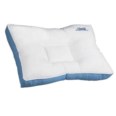contour bed pillows contour ortho fiber bed pillow