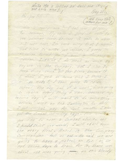 Thank You Letter To Korean Korean War Letter History Detectives Pbs