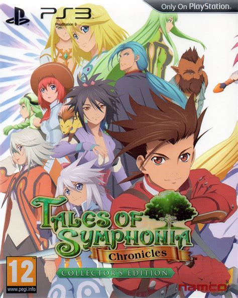 Tales Of Symphonia Chonicles Ps3 gamespace11box gamerankings