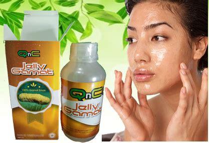 Qnc Jelly Gamat Wajah masker herbal alami qnc jelly gamat masker wajah herbal