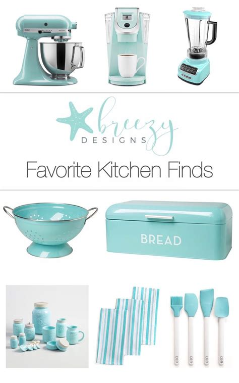 blue kitchen accessories light blue track