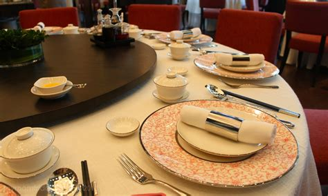 table setting family style my friday unlimited dim sum new world makati hotel s