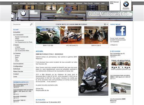 Bmw Motorrad Avenue De La Grande Armée by Cr 233 Ation Site Bmw Motorrad 201 Toile Agence Web