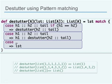 pattern matching exle in scala scala for java developers silicon valley code c 13