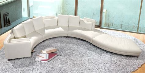 enez ultra modern contemporary black white leatherette contemporary white s shaped curved leather sectional sofa