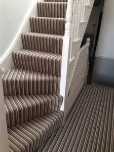Stairs Striped Carpet by 25 Best Ideas About Striped Carpet Stairs Su Pinterest