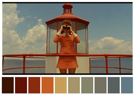 color themes in film color palettes from famous movies show how colors set the