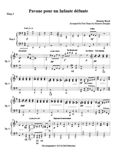 0001151967 pavane pour une infante defunte pavane pour une infante defunte harp column music