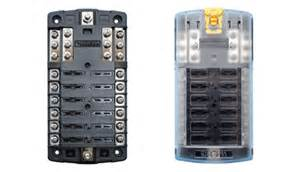 marine electrical fuse panel boat wiring easy to install ezacdc marine electrical