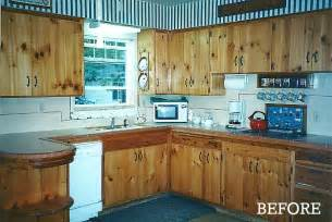 painting knotty pine kitchen cabinets giving a 1930s kitchen some old fashioned charm hooked