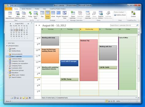 how to make outlook calendar not visible to others sync outlook folders with other machines without exchange