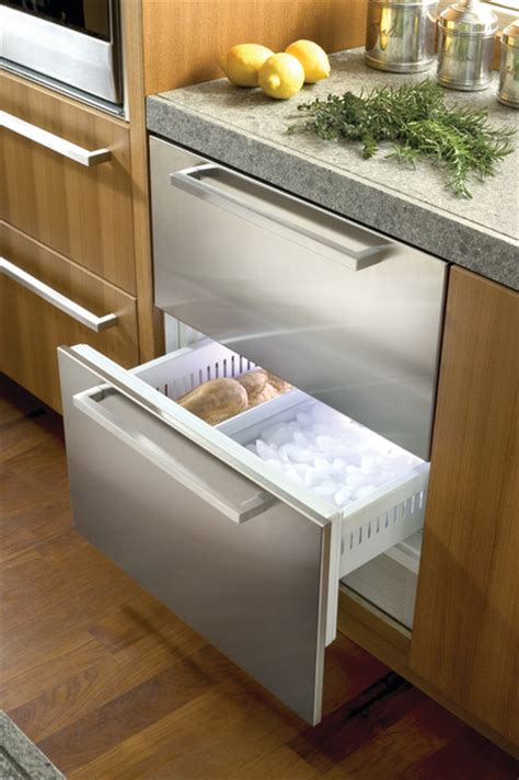 sub zero refrigerator drawers sub zero 27 quot built in double drawer refrigerator freezer