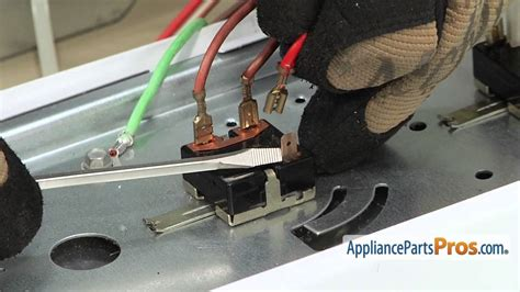 Dryer Rotary Start Switch Part We4m519 How To Replace
