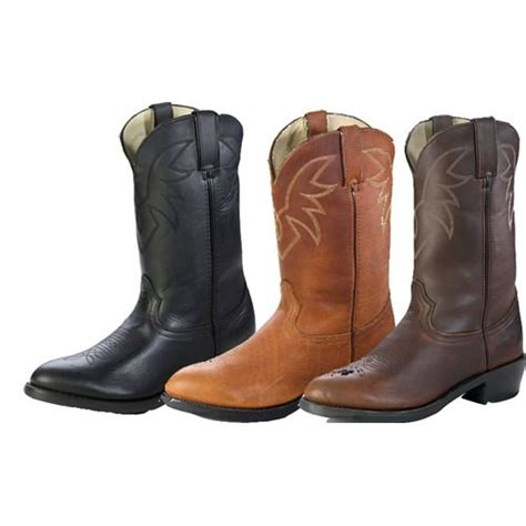 leathercoatsetc mens authentic cowboy boots wide width