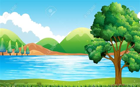 nature clip scenery clipart nature pencil and in color scenery