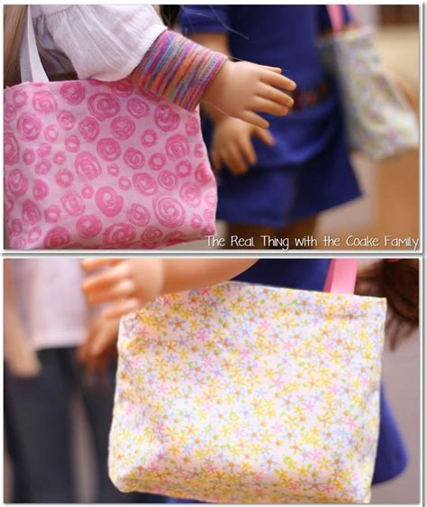 doll tote bag pattern free doll patterns reversible tote bag girl dolls