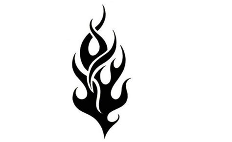 small flame tattoos 30 design stencils