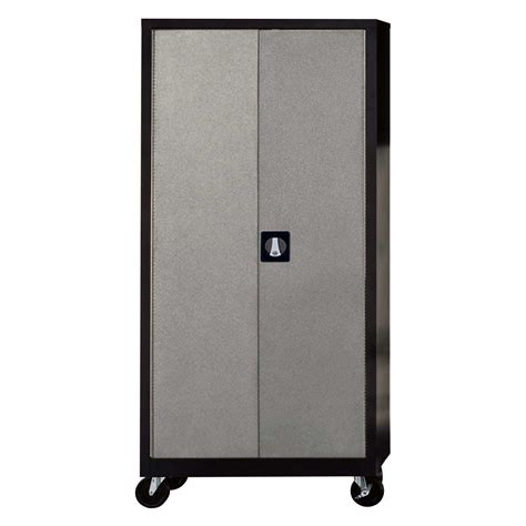 storage cabinet on wheels garage storage cabinets decofurnish