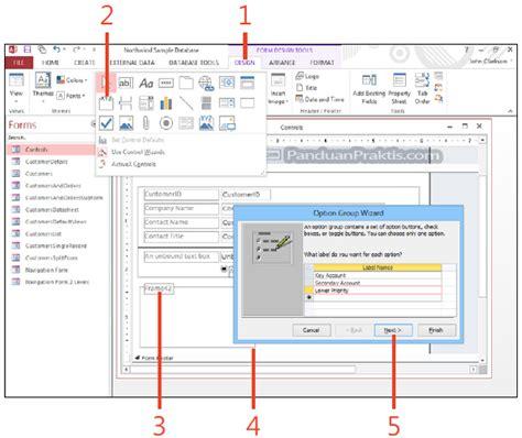 membuat option html cara membuat option group di access 2013