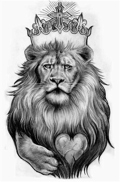 crown lion tattoo tattoos designs ideas and meaning tattoos for you