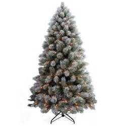 prelit artificial christmas tree kingston pine pre lit
