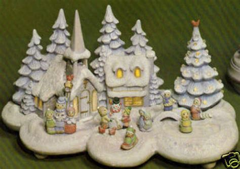 christmas village light kit ceramic bisque ready to paint small christmas village