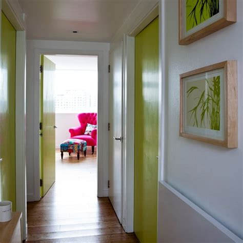 Hallway Door Ideas | jazz up internal doors hallway decorating ideas