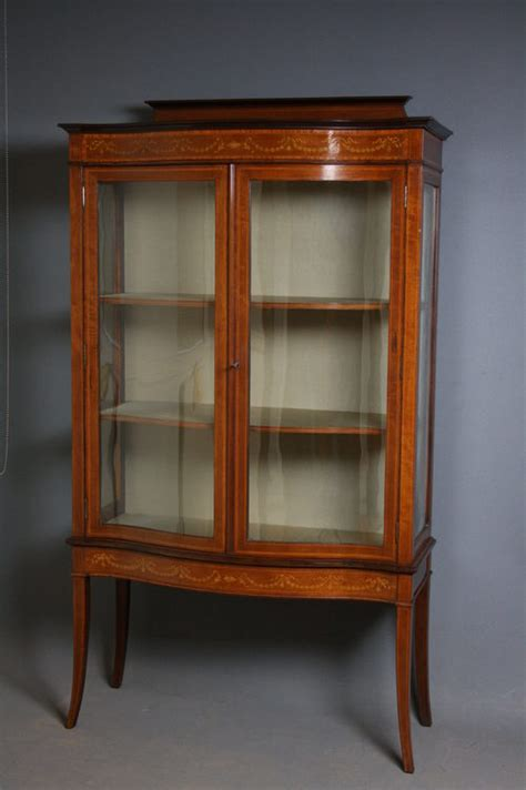 edwardian display cabinet antiques atlas