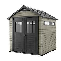Composite Storage Sheds by Canadian Tire Keter Keter Fusion Wood Plastic Composite