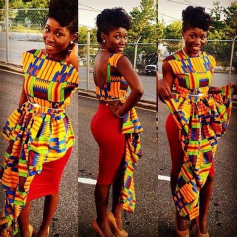 Nigerian Chitenge Outfits   myideasbedroom.com
