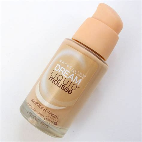 Maybelline Mousse Foundation maybelline liquid mousse foundation review coffee