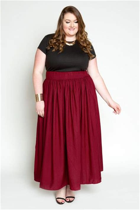 Dara Skirt Bigsize plus size clothing for ruby maxi skirt with pockets sizes 22 28 society