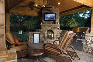 Do It Yourself Patio Cover Firepits Fireplaces And Cool Weather Entertaining
