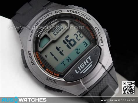 Casio W 734 1av buy casio 5 alarms memory 60 digital 100m sport