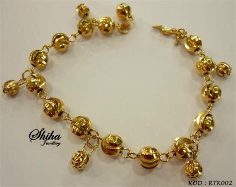 Gelang Tangan Korea Gt154 koleksi gelang tangan emas korea 24k emas korea 24k