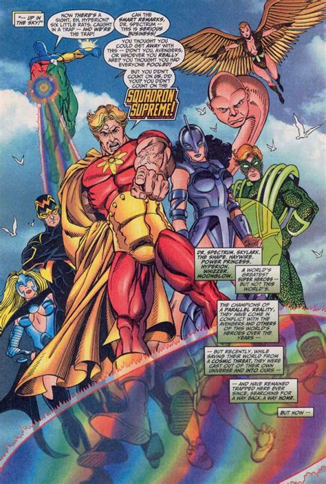 Supreme Justice squadron supreme vs justice league battles comic vine