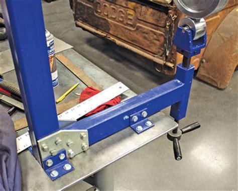 bench top english wheel eastwood metal forming fabrication bench top english wheel