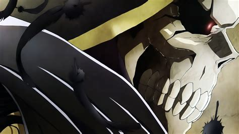 wallpaper anime overlord ainz ooal gown momonga full hd wallpaper and background